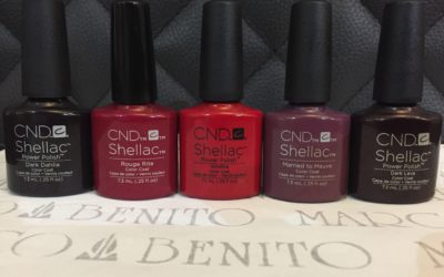 Are these the most popular Shellac colours this season?